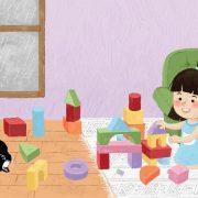 sarana aktivitas montessori di rumah