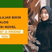 Bikin dialog novel