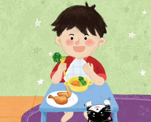 Tips Menjaga Asupan Nutrisi Anak