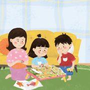 manfaat bermain bersama anak
