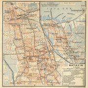 Peta batavia